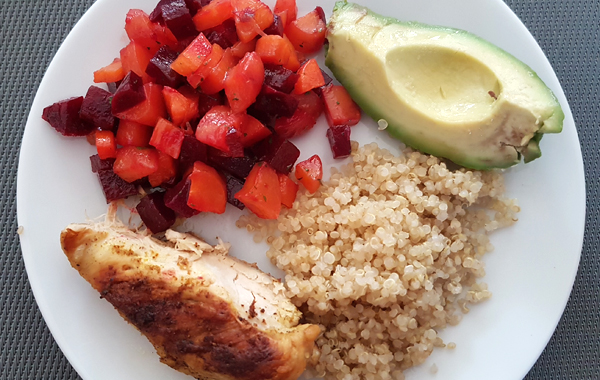 quinoa en lugar de arroz